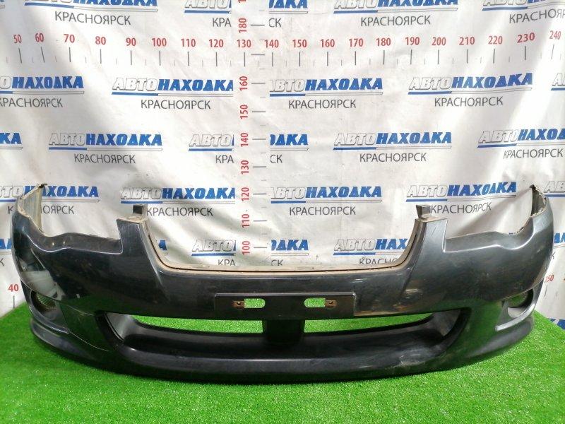 Бампер Subaru Legacy BL5 EJ20 2006 передний Передний, рестайлинг (2мод.), с туманками (114-77828), цвет