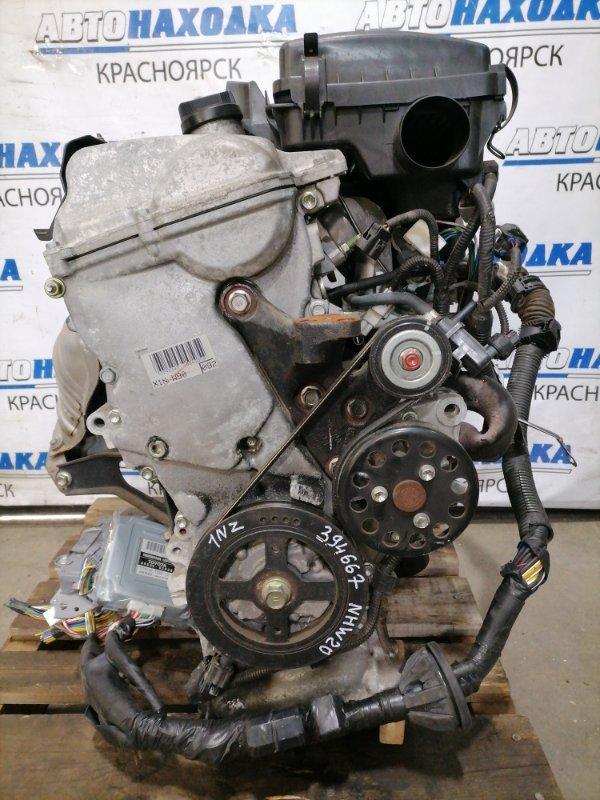 Двигатель Toyota Prius NHW20 1NZ-FXE 2005 4863840 № 4863840, пробег 104 т.км. С аукционного авто. Есть