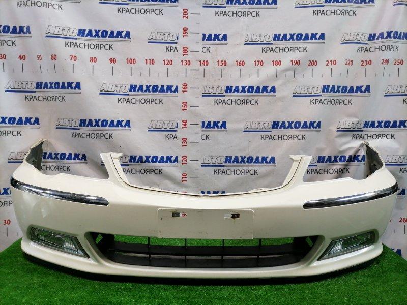 Бампер Honda Odyssey RA8 J30A 1999 передний Передний, дорестайлинг (1 мод.), с туманками (R6789) цвет