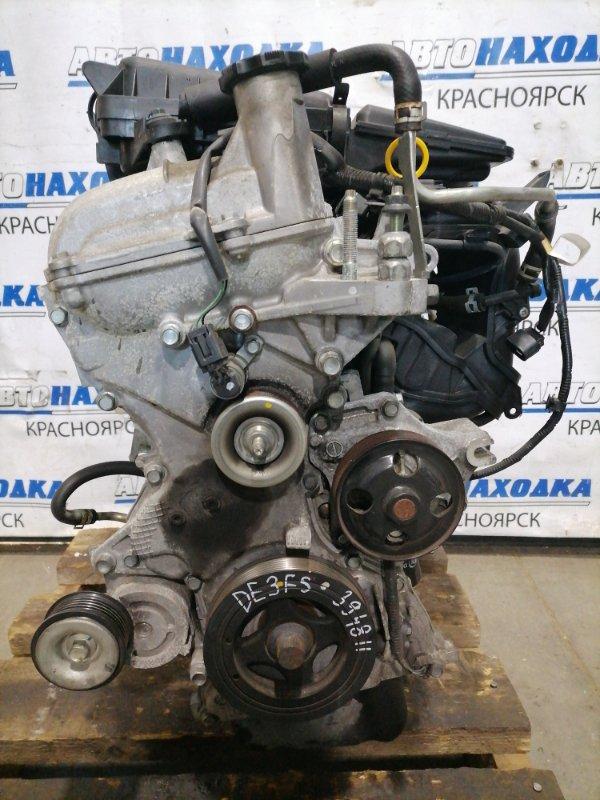 Двигатель Mazda Demio DE3FS ZJ-VE 2007 730663 № 730663, пробег 95 т.км. Есть видео работы ДВС. Без