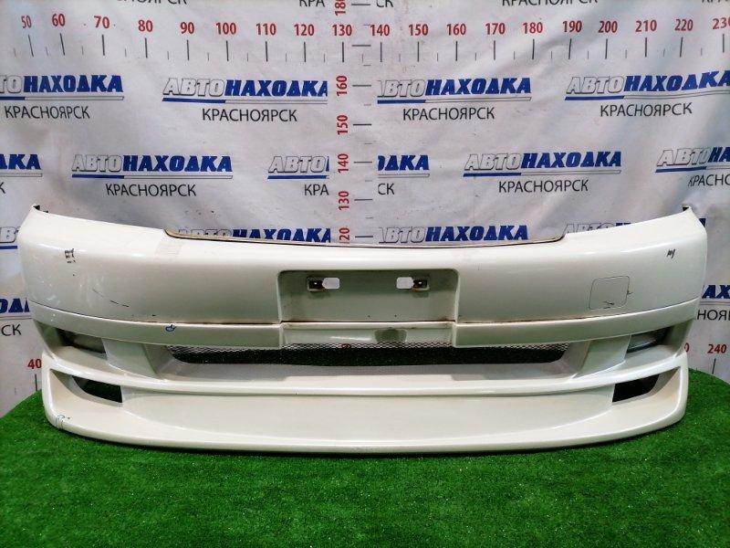 Бампер Honda Stepwgn RF3 K20A 2001 передний Передний, 1 модель (дорестайлинг), нижняя часть