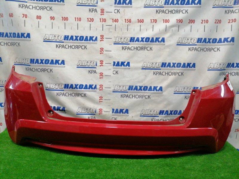 Бампер Honda Fit GE6 L13A 2010 задний Задний, рестайлинг (2 мод.), с катафотами 1700. Есть
