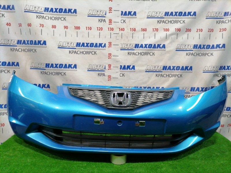 Бампер Honda Fit GE6 L13A 2007 передний Передний, (1 мод.) , цвет BG53M , дорестайлинг, с решеткой.