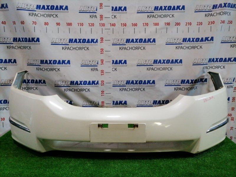 Бампер Honda Odyssey RB1 K24A 2003 передний Передний, дорестайлинг (1 мод), цвет NH624P. Есть