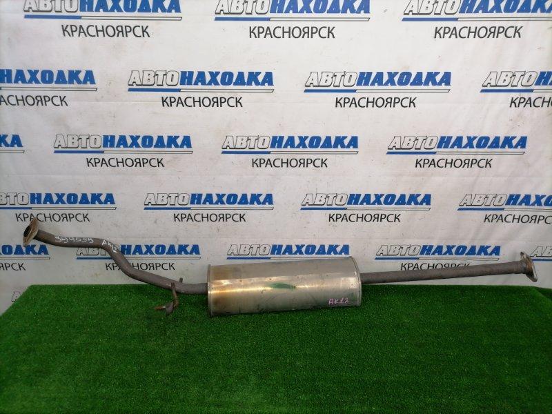 Глушитель Nissan March AK12 CR12DE 2002 задний средняя часть глушителя с резонатором, пробег 70 т.