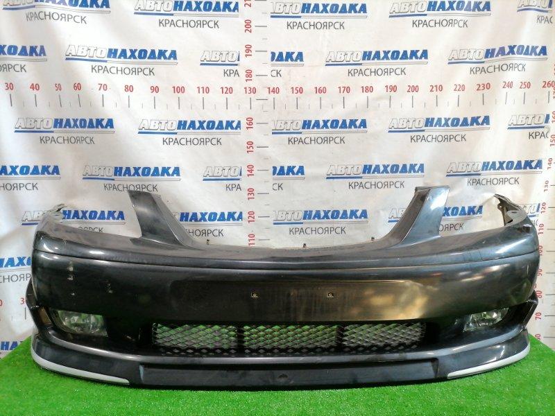 Бампер Mazda Mpv LW5W GY 1999 передний Передний, дорестайлинг (1 мод.), с туманками (P0285),
