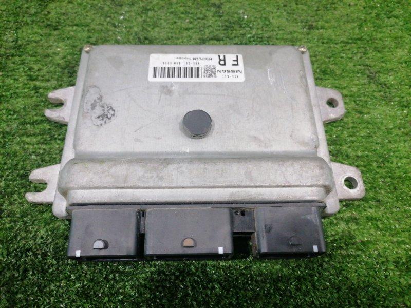 Компьютер Nissan Tiida Latio SC11 HR15DE 2008 Блок управления ДВС. A56-C61. Пробег 35 т.км. С