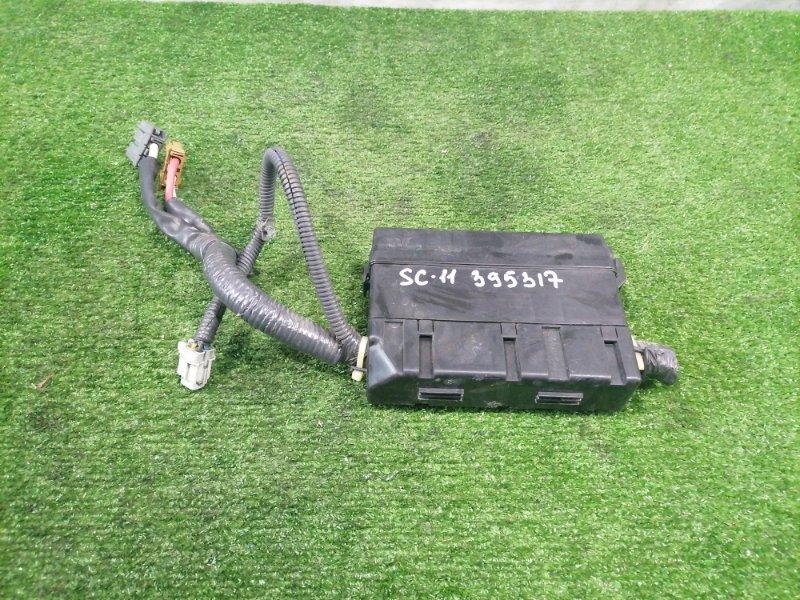 Блок предохранителей Nissan Tiida Latio SC11 HR15DE 2008 Подкапотный. В сборе. Пробег 35 т.км. С
