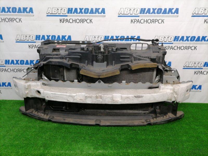 Рамка радиатора Mazda Demio DE3FS ZJ-VE 2007 передняя пластиковая, с замком, с радиаторами двс и