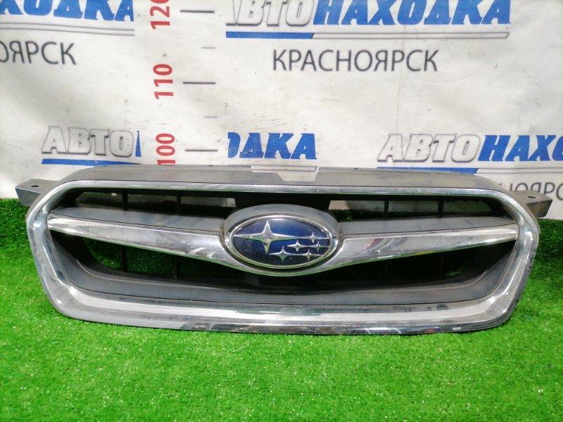 Решетка радиатора Subaru Legacy BP5 EJ20 2006 Рестайлинг (2 мод.). Есть мелкие сколы.