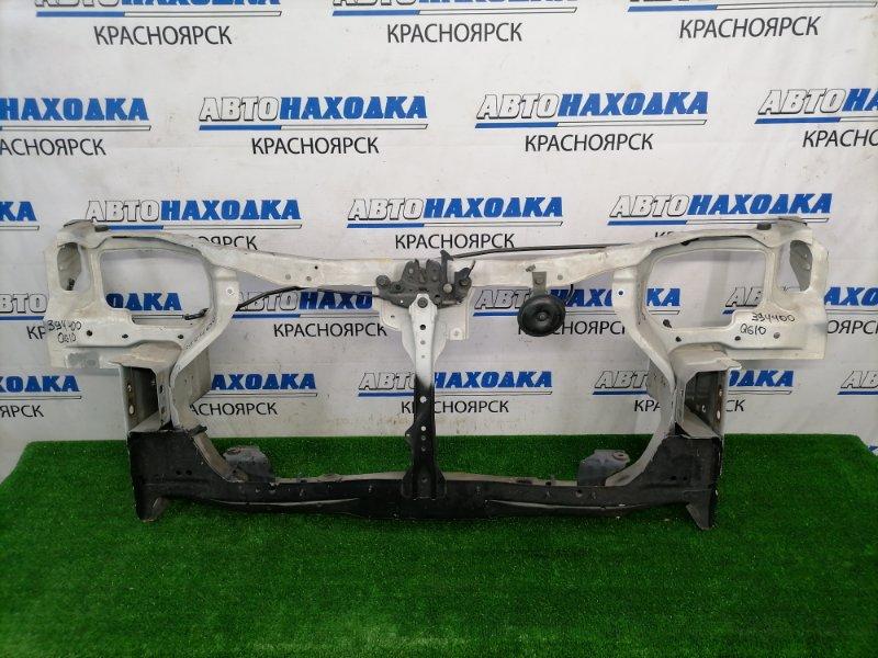 Рамка радиатора Nissan Bluebird Sylphy QG10 QG18DE 2000 передняя С замком, упором капота, сигналом