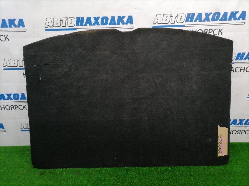 Пол багажника Nissan Wingroad WFY11 QG15DE 2001 задний Жесткий пол в багажник, черный, под чистку,