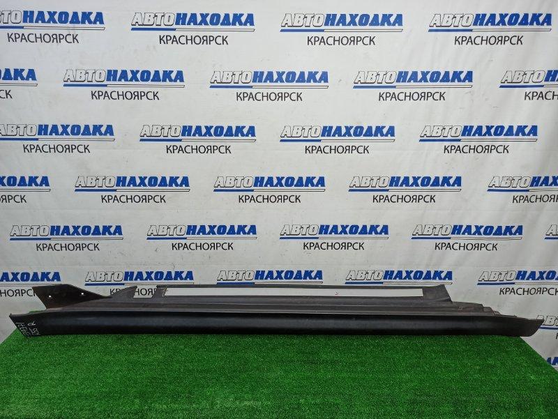 Порог Mini Clubman R55 N18B16A 2008 правый Пластиковый, правый, некрашеный