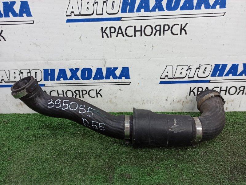 Патрубок интеркулера Mini Clubman R55 N18B16A 2008 левый Левый патрубок радиатора интеркулера
