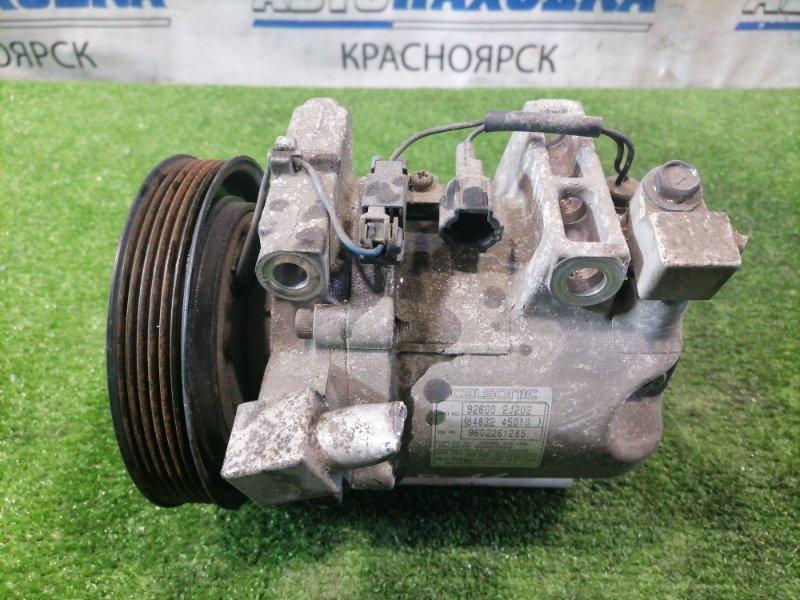 Компрессор кондиционера Nissan Primera P11 SR18DE 1995 Пробег всего 5273 км. С аукционного авто.