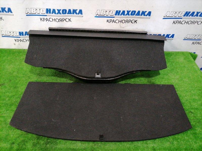 Пол багажника Subaru Exiga YA5 EJ20 2008 задний Штатный ящик в багажник с двумя крышками.