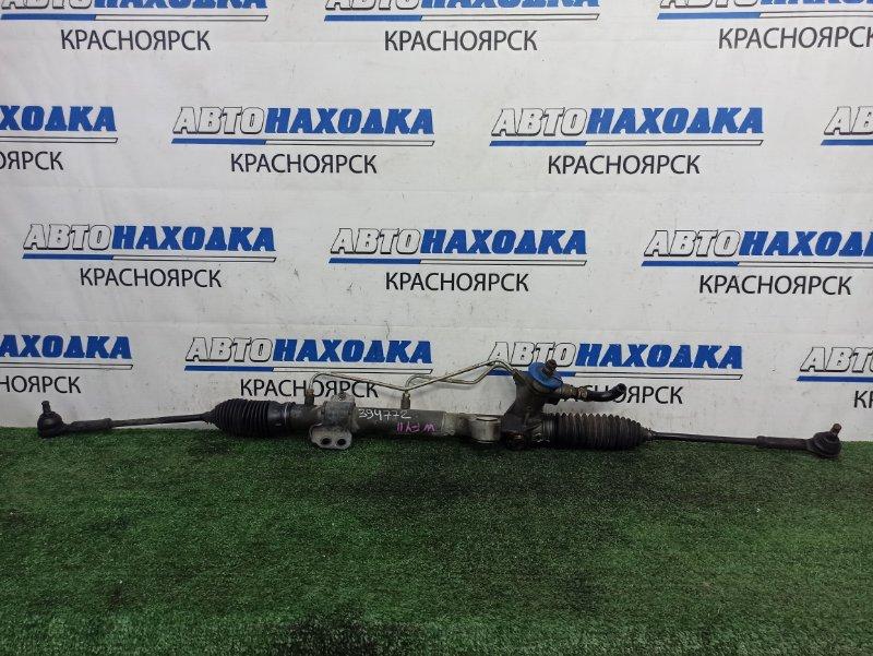 Рейка рулевая Nissan Wingroad WFY11 QG15DE 2001 В сборе, с тягами и наконечниками, пробег 67 т.км,