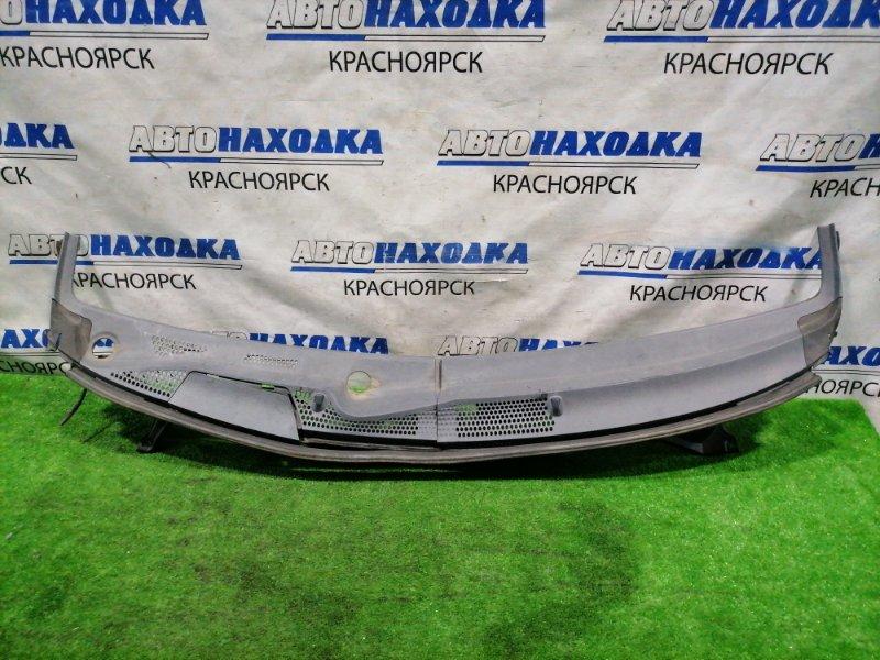 Ветровая панель Honda Fit GD1 L13A 2001 Из 2-х частей, с двумя форсунками, боковушками, дефект