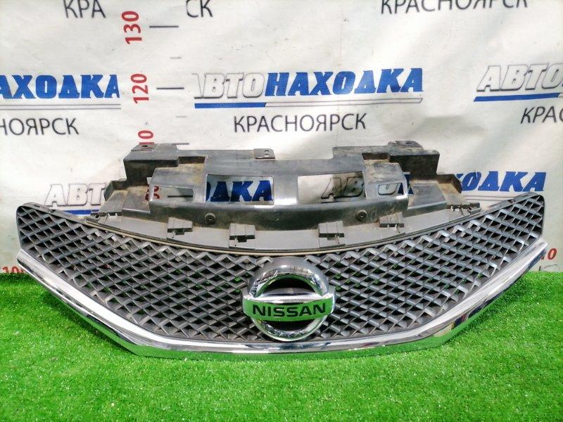 Решетка радиатора Nissan Note E12 HR12DE 2012 Дорестайлинг (1 мод.). Есть мелкие сколы.
