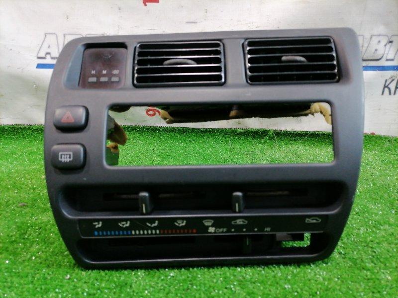 Климат-контроль Toyota Corolla AE109V 4A-FE 1991 Механический, в сборе с консолью и часами. Нет
