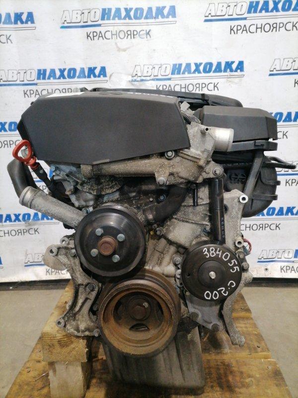 Двигатель Mercedes-Benz C200 W202 111.945 1997 22037859, 111.945 M111 E20, 111.945 № 22 037859, пробег 77 т.км. С