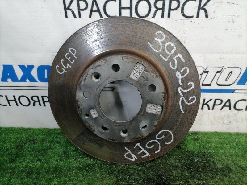 Диск тормозной Mazda Atenza GGEP LF-DE 2002 передний Передний, вентилируемый, диаметр 274 мм
