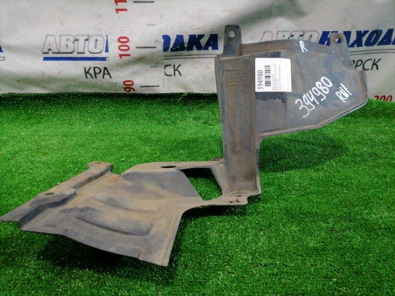 Защита двс Honda Stream RN1 D17A 2000 передняя правая Правая, есть пара мелких надрывов.