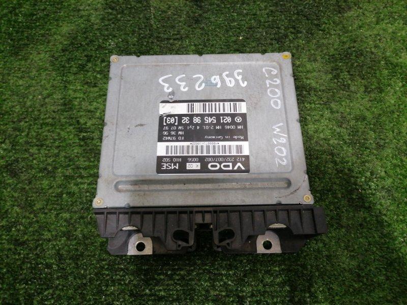 Компьютер Mercedes-Benz C200 W202 111.945 1997 Блок управления ДВС.