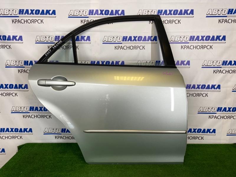 Дверь Mazda Atenza GGEP LF-DE 2002 задняя правая Задняя правая, серебристая, в сборе, седан, есть