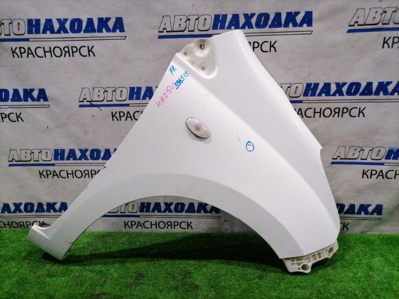 Крыло Suzuki Alto HA25V K6A 2009 переднее правое Переднее правое. с повторителем, клипсой и
