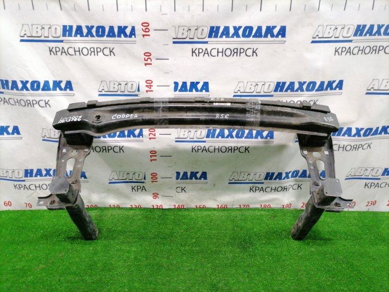 Усилитель бампера Mini Cooper R56 N12B16A передний Передний швеллер+пенопласт. Стаканы