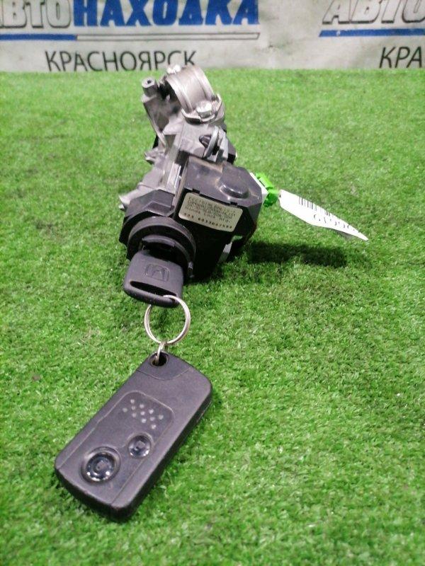 Замок зажигания Honda Fit GD1 L13A 2001 с двумя ключами