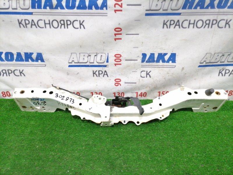 Рамка радиатора Honda Freed GB3 L15A верхняя Верхняя часть рамки радиатора с замком капота.
