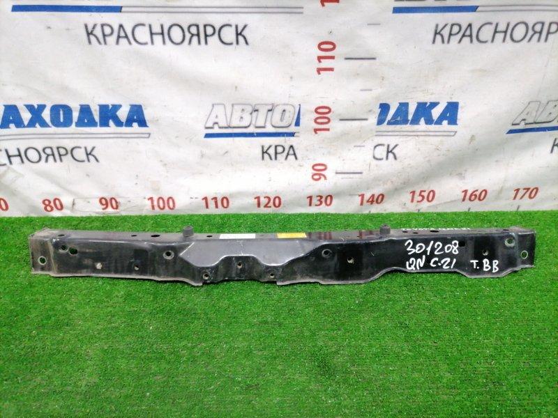 Рамка радиатора Toyota Bb QNC21 3SZ-VE верхняя Верхняя часть рамки радиатора.