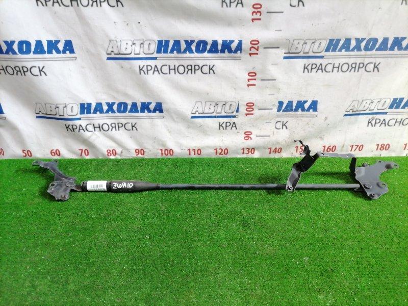 Распорка Lexus Ct200H ZWA10 2ZR-FXE передняя Распорка передних стоек под капотом.