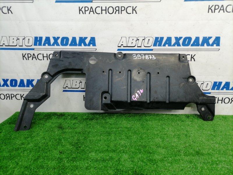 Защита двс Mitsubishi Asx GA3W 4B10 2010 Центральная