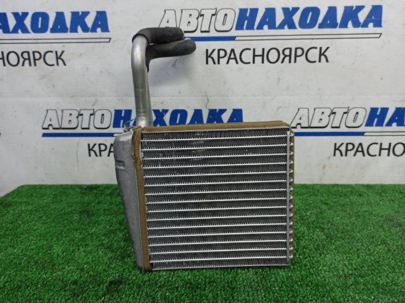 Радиатор печки Nissan March AK12 CR12DE 2002 ХТС, с трубками, пробег 70 т.км