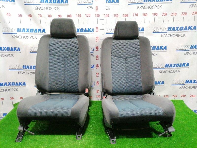 Сиденья Mazda Familia BJ5W ZL-VE 2000 передняя Передние, пара, серо-бирюзовые, ткань, код салона BN4,