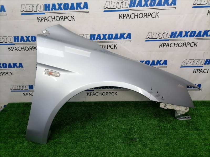 Крыло Mitsubishi Lancer CY4A 4B11 2007 переднее правое переднее правое, серебристое (A31), с
