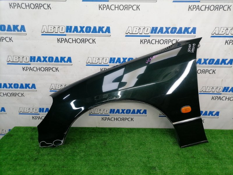 Крыло Toyota Aristo JZS160 2JZ-GE 2000 переднее левое переднее левое, темно-зеленое (6S6), с