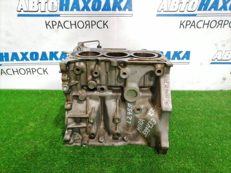 Блок двс Daihatsu Mira L275S KF 2007 Пробег 84 т.км. С аукционного авто.