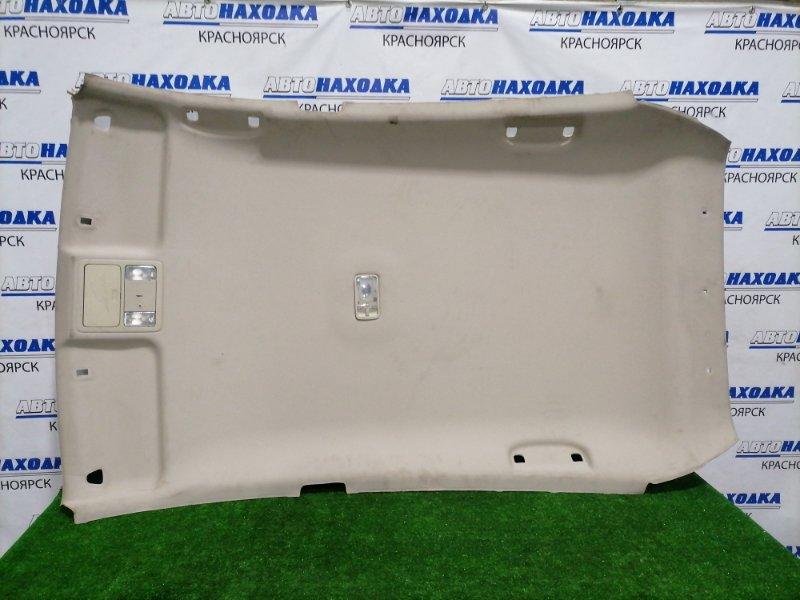 Обшивка крыши Nissan Tiida C11 HR15DE 2008 Под чистку. Хэтчбек. Имеются надрывы и заломы.