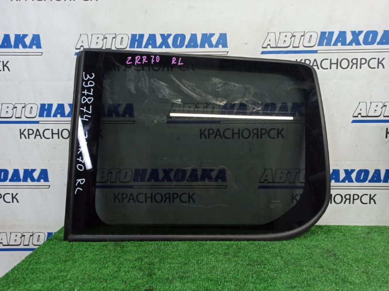 Стекло собачника Toyota Voxy ZRR70W 3ZR-FAE 2007 заднее левое заднее левое (молдинг ОК)
