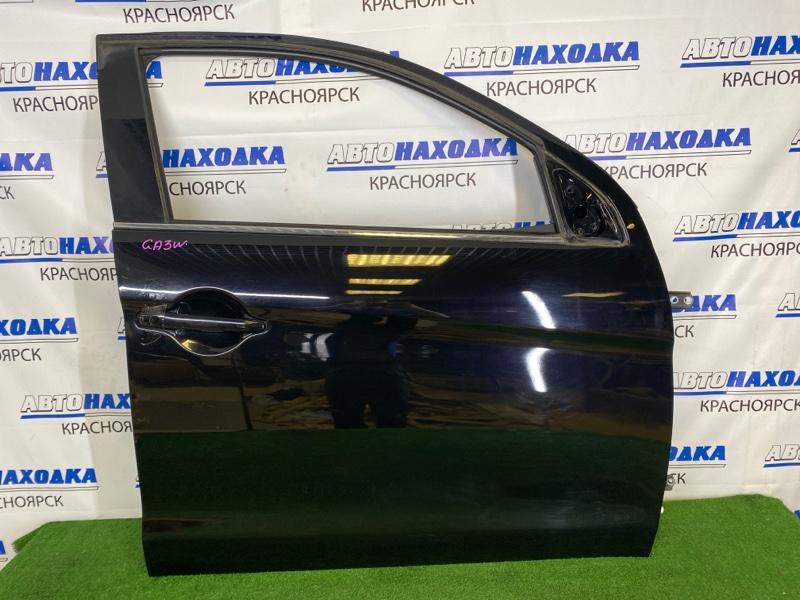 Дверь Mitsubishi Asx GA3W 4B10 2010 передняя правая Передняя правая, черная (X42B), без стекла,