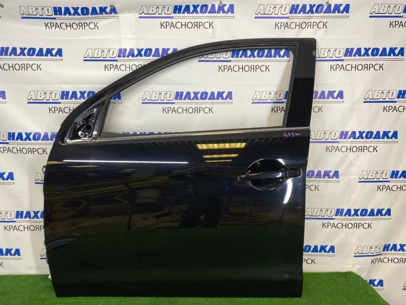 Дверь Mitsubishi Asx GA3W 4B10 2010 передняя левая Передняя левая, черная (X42B), без стекла,
