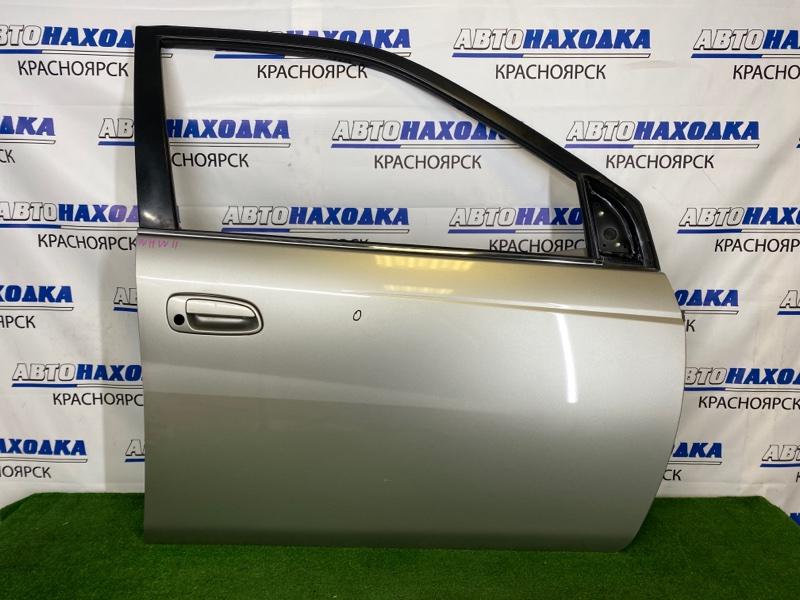 Дверь Toyota Prius NHW11 1NZ-FXE 2000 передняя правая Передняя правая, серая (1C5), без стекла и