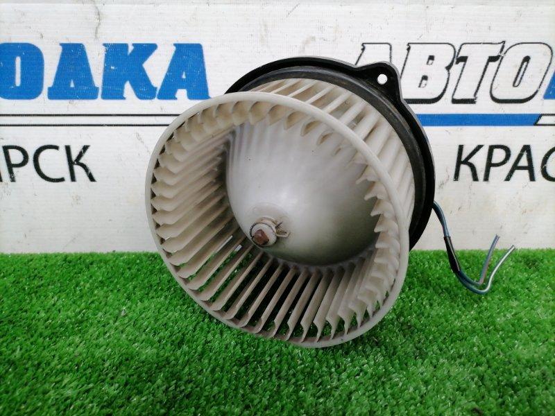 Мотор печки Toyota Corsa EL51 4E-FE 1997 2 контакта, с фишкой, пробег 28 т.км.