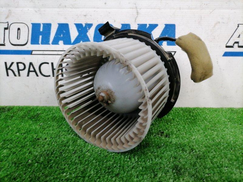 Мотор печки Nissan March AK12 CR12DE 2002 2 контакта, незначительно подломан корпус