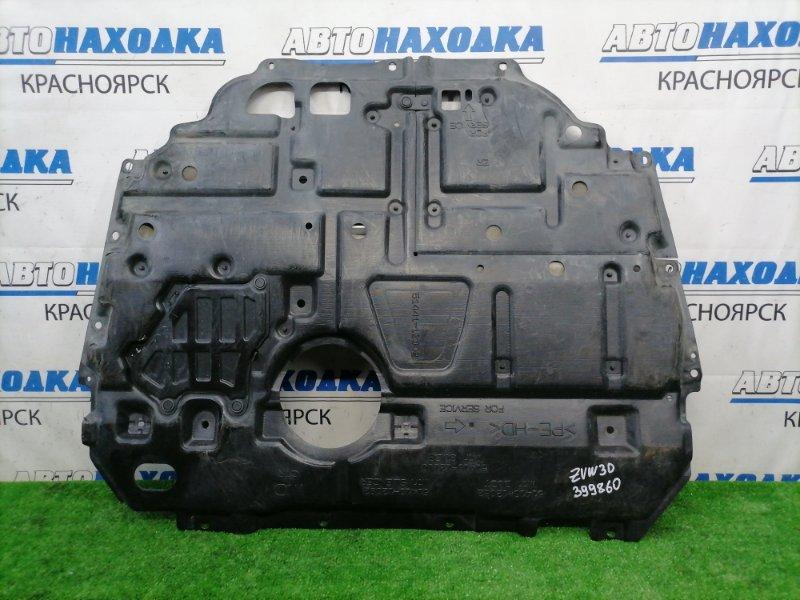 Защита двс Toyota Prius ZVW30 2ZR-FXE 2009 центральная