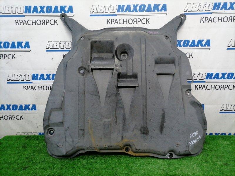 Защита двс Volvo Xc90 C_59 B5254T2 2002 передняя центральная, сплошная, незначительный дефект 1